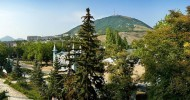 Красоты Кавказа: гора Машук и озеро Тамбукан