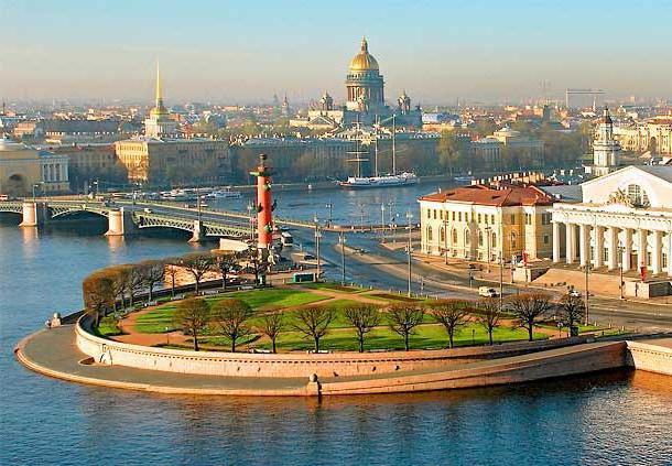 остров васильевский фото