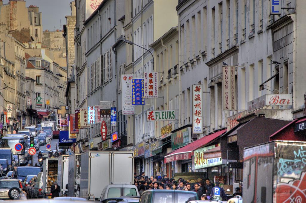 Китайский квартал в Париже