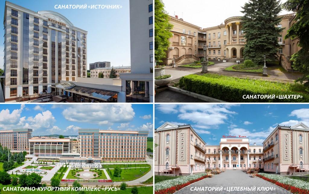 Популярные санатории Ессентуков
