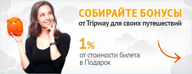 Tripway - Бонусы