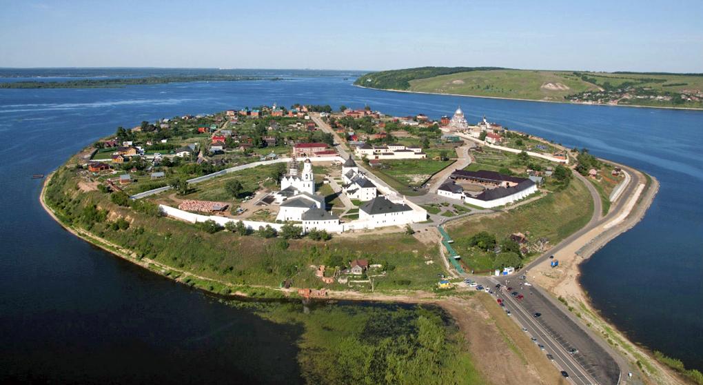 Сказочный остров - град Свияжск