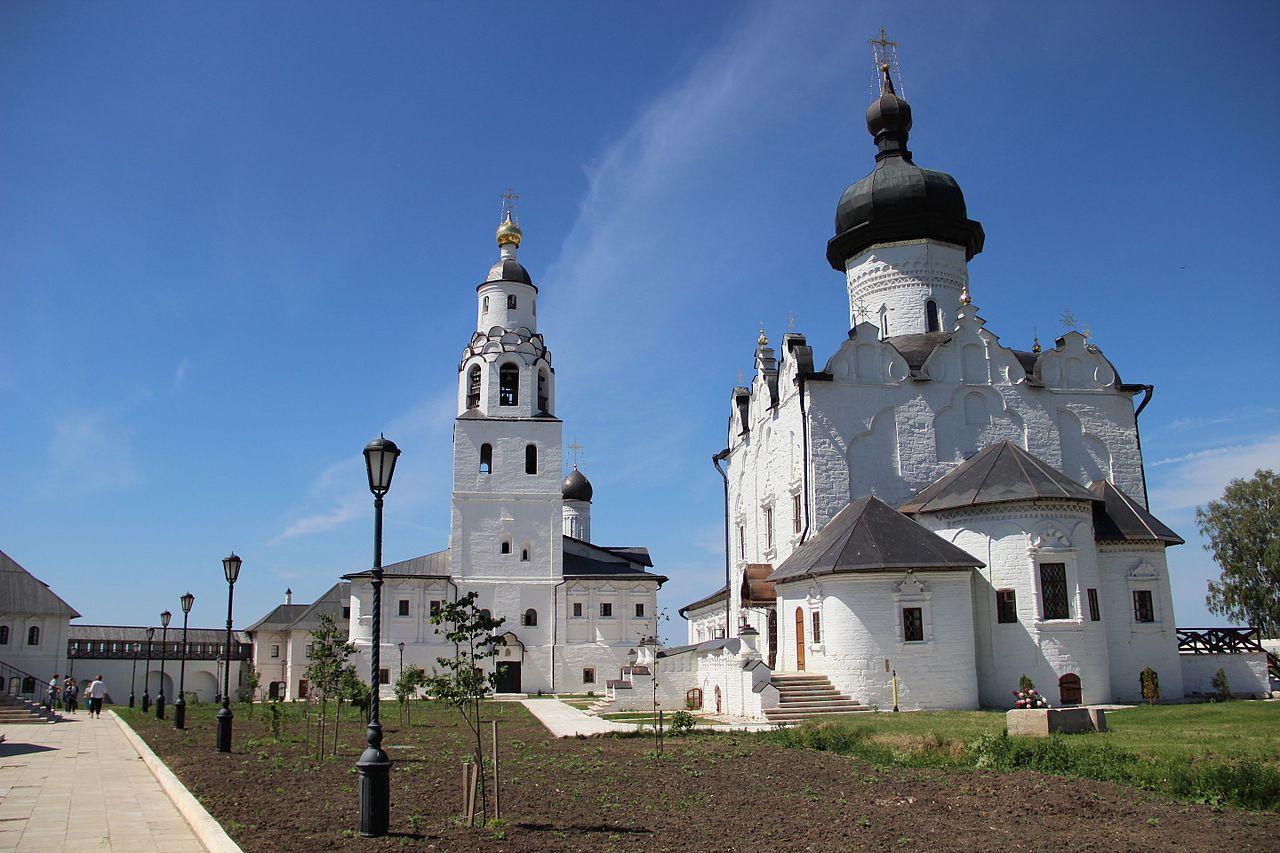 Свияжский Успенский Богородицкий мужской монастырь и Собор Успения Пресвятой Богородицы