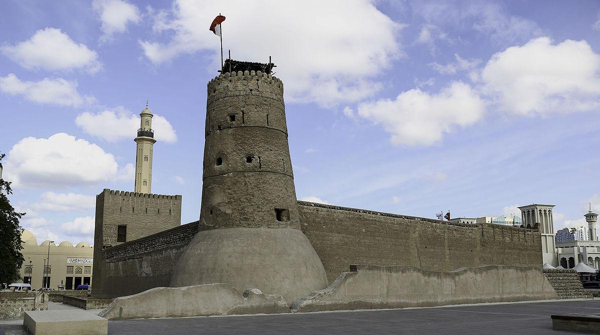 Старейшее здание Дубая (1787 г.) - форт Аль-Фахиди