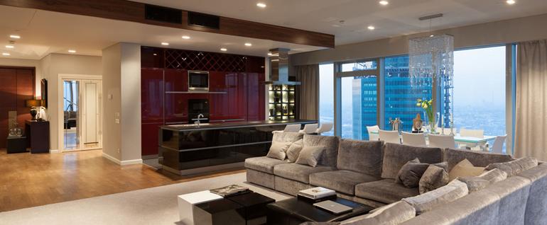 Преимущества аренды апартаментов на месяц