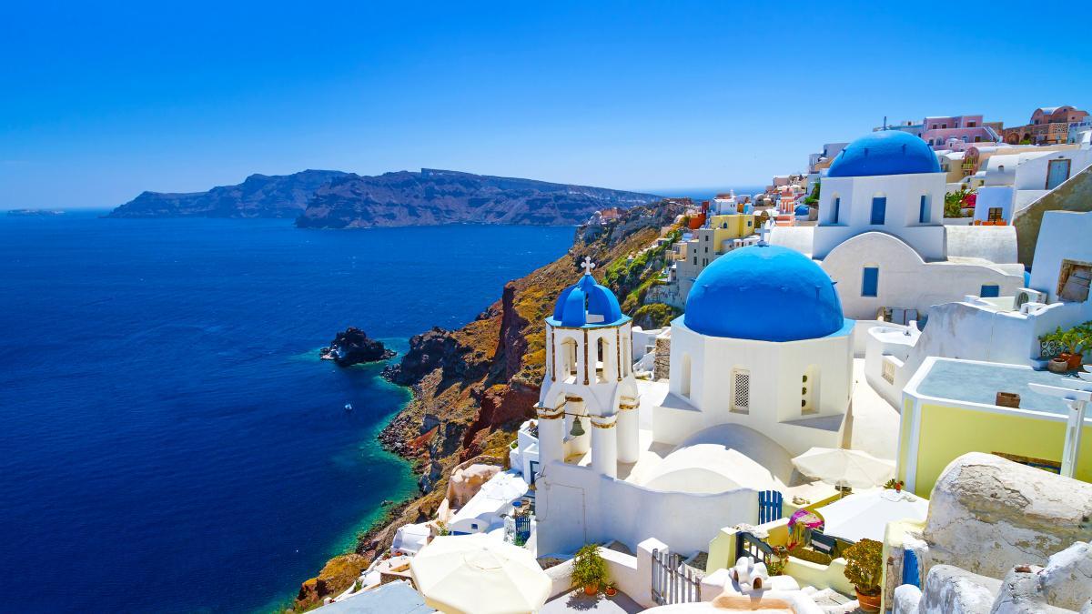 Кикладский стиль - белые домики греческих островов