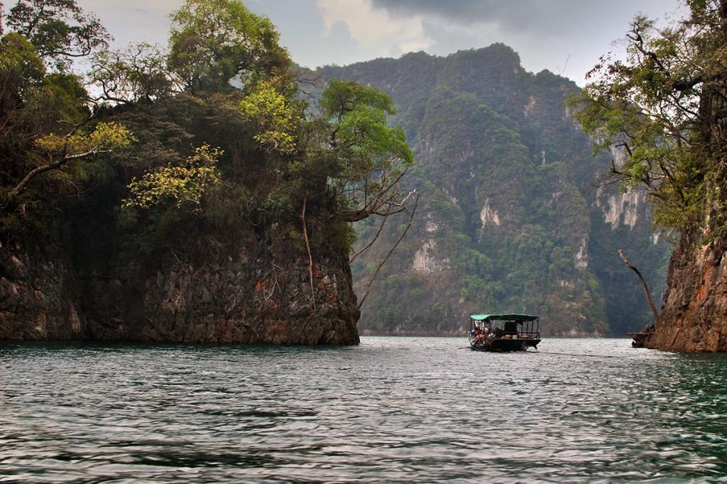 Озеро Чео Лан, заповедник Као Сок, Тайланд