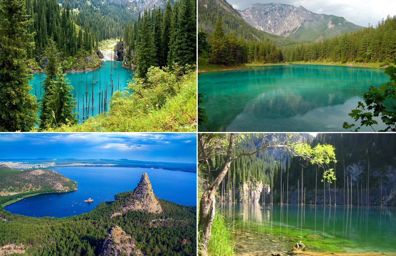 Голубые озера Казахстана