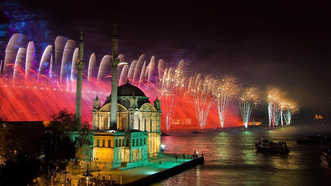 Встреча Нового года в Турции