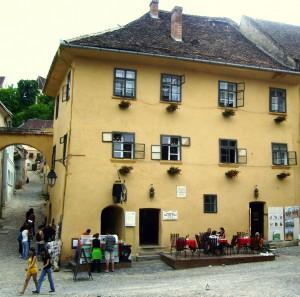 Дом в котором родился Дракула