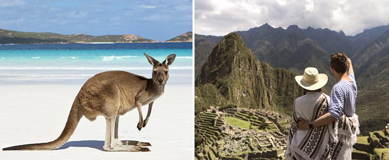 Туры в Австралию и Перу: в чем их особенности и преимущества