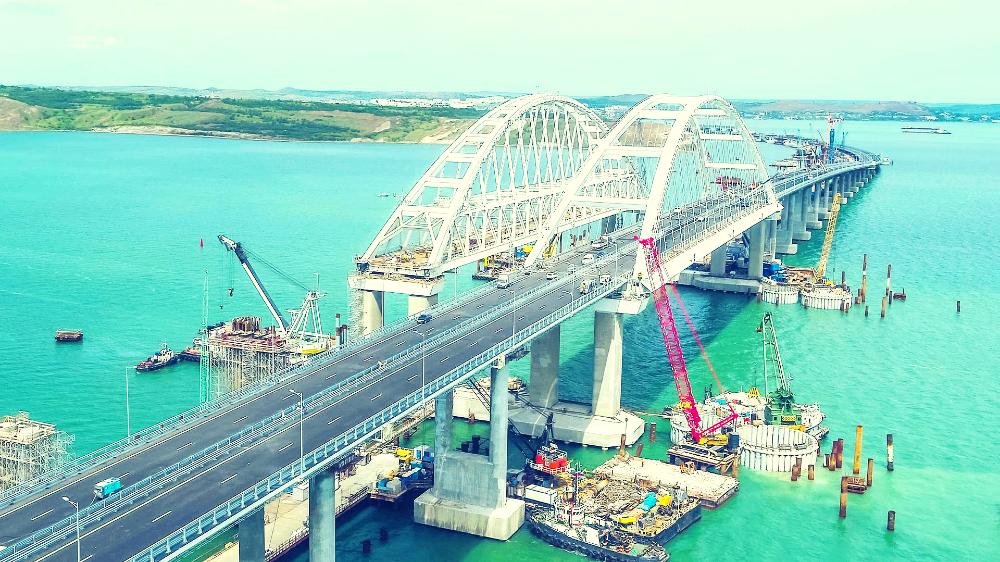 Крымский мост: дорога соединившая прошедшую и будущую эпоху