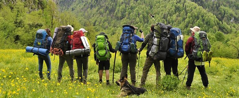 Активный туристический отдых: походы